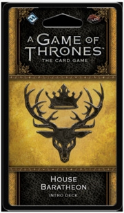 A Game of Thrones LCG House Baratheon Intro Deck | Merchandise