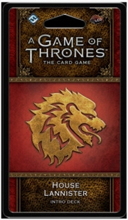 A Game of Thrones LCG House Lannister Intro Deck | Merchandise