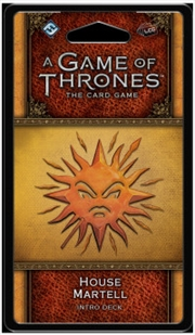 A Game of Thrones LCG House Martell Intro Deck | Merchandise