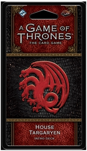 A Game of Thrones LCG House Targaryen Intro Deck | Merchandise