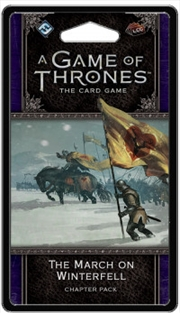 A Game of Thrones LCG The March on Winterfell Chapter Pack | Merchandise