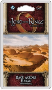 Lord of the Rings LCG - Race Across Harad Adventure Pack | Merchandise
