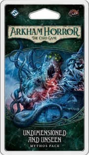 Arkham Horror LCG - Undimensioned and Unseen Mythos Pack | Merchandise