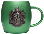 Harry Potter - Slytherin Metallic Crest Mug