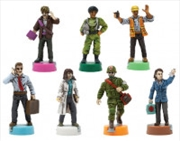 Pandemic 10th Anniversary Edition Painted Figures (limit of 1 for every 2 copies of game purchased)