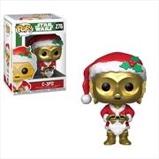 Star Wars - C-3PO as Santa Pop! Vinyl | Pop Vinyl