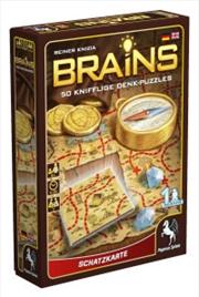 Brains Treasure Map   Merchandise