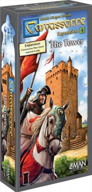 Carcassonne Expansion 4 the Tower   Merchandise