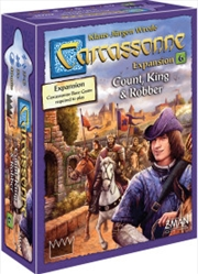 Carcassonne Expansion 6 Count, King and Robber   Merchandise