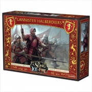 A Song of Ice and Fire TMG - Lannister Halberdiers   Merchandise