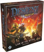 Descent 2nd Edition Lair of the Wyrm | Merchandise