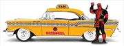 Deadpool - Chevy Yellow Taxi 1:24 Scale Hollywood Rides Diecast Vehicle | Merchandise