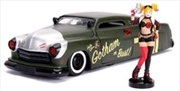 DC Bombshells - Harley Quinn 1951 Mercury 1:24 Scale Hollywood Rides Diecast Vehicle | Merchandise