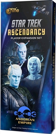 Star Trek - Ascendancy Andorian Command Expansion | Merchandise