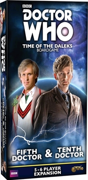 Doctor Who - Time of the Daleks Fifth & Tenth Doctor Expansion