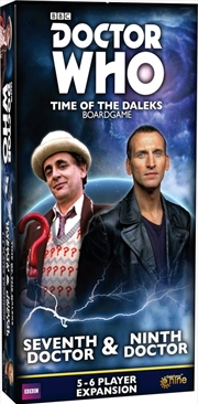 Doctor Who - Time of the Daleks Seventh & Ninth Doctor Expansion