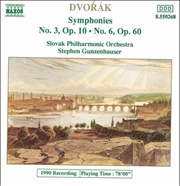 Dvorak - Symphonies No. 3 And 6 | CD