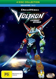 Voltron - Legendary Defender - Season 1-2 | Boxset | DVD