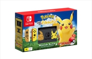 Nintendo Switch Console Pokemon Lets Go Pikachu Edition