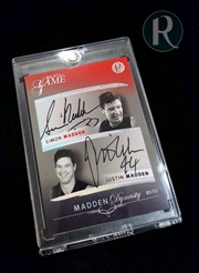 Aussie Rules - Madden Brothers Dual Signature Card | Collectable