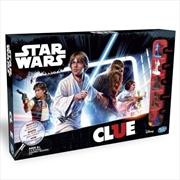 Star Wars Cluedo Board Game
