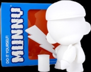 "Munnyworld - DIY Munny 7"" Vinyl (White) 