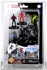 Heroclix - Avengers / Defenders War Marvel Knights Fast Forces 6-Pack | Merchandise