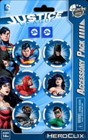 Heroclix - DC Comics Justice League Trinity War Dice & Token Pack