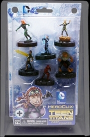 Heroclix - DC Comics Teen Titans Fast Forces 6-Pack