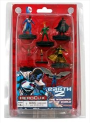 Heroclix - DC Earth 2 Fast Forces 6-Pack | Merchandise