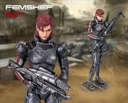 Mass Effect - Femshep Statue