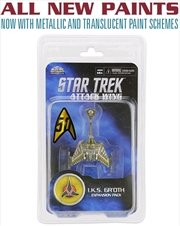 Star Trek - Attack Wing Wave 27 IKS Gr'oth Expansion Pack | Merchandise