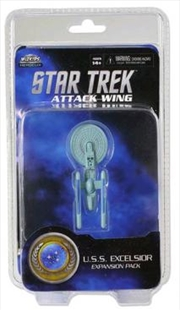 Star Trek - Attack Wing Wave 2 USS Excelsior Expansion Pack | Merchandise