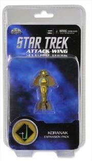 Star Trek - Attack Wing Wave 2 Koranak Expansion Pack | Merchandise