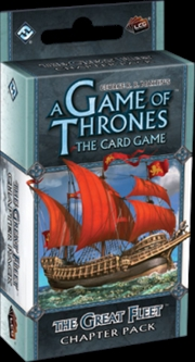 Game of Thrones - LCG The Great Fleet Chapter Pack Expansion | Merchandise