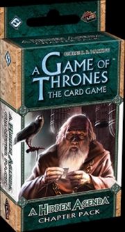 Game of Thrones - LCG A Hidden Agenda Chapter Pack Expansion | Merchandise