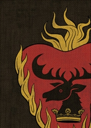Game of Thrones - Card Sleeve Flaming Heart 50 Count | Merchandise