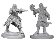 Pathfinder - Deep Cuts Unpainted Miniatures: Human Male Wizard | Games