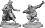 Pathfinder - Deep Cuts Unpainted Miniatures: Human Male Rogue | Games