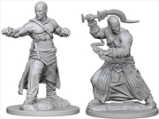 Pathfinder - Deep Cuts Unpainted Miniatures: Human Male Monk | Games