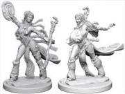 Pathfinder - Deep Cuts Unpainted Miniatures: Human Female Sorcerer   Games