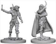 Pathfinder - Deep Cuts Unpainted Miniatures: Human Female Rogue | Games