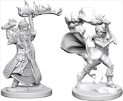 Pathfinder - Deep Cuts Unpainted Miniatures: Human Female Cleric | Games