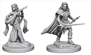 Pathfinder - Deep Cuts Unpainted Miniatures: Human Female Bard   Games