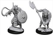 Pathfinder - Deep Cuts Unpainted Miniatures: Gnolls   Games