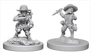Pathfinder - Deep Cuts Unpainted Miniatures: Halfling Male Rogue | Games