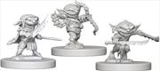Pathfinder - Deep Cuts Unpainted Miniatures: Goblins   Games