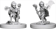 Pathfinder - Deep Cuts Unpainted Miniatures: Gnome Male Druid | Games