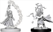 Pathfinder - Deep Cuts Unpainted Miniatures: Gnome Female Sorcerer | Games