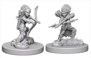 Pathfinder - Deep Cuts Unpainted Miniatures: Gnome Female Rogue | Games